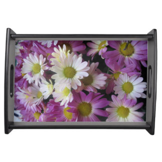 Style ART Collection NavinJoshi flower pattern Serving Tray