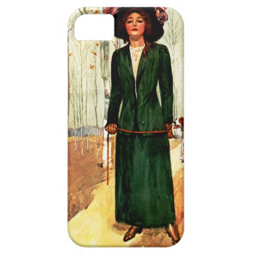 Style Book Fashion Illustration iPhone 5 Case