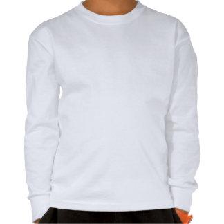 Style d université du football d amour t-shirts