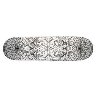 Style d'Indien de planche à roulettes Skateboard