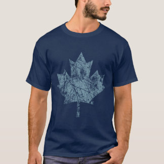 Style grunge canadien CANADA de feuille d'érable T-shirt