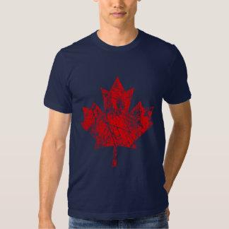 Style grunge canadien CANADA de feuille d'érable T Shirt