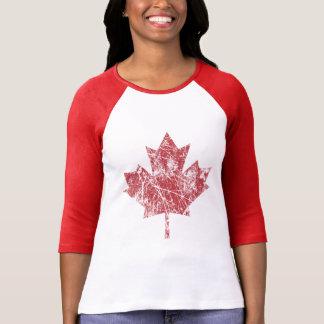 Style grunge canadien CANADA de feuille d'érable T-shirts