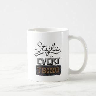 Style Is Everything Coffee Mug