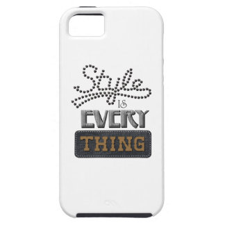 Style Is Everything iPhone 5 Case