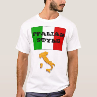 Style italien t-shirt