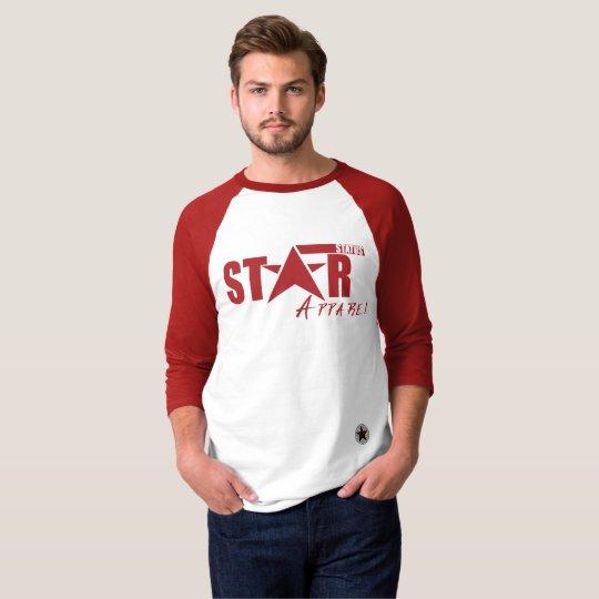 Style: Men's Star Status Apparel 3/4 Sleeve Tee