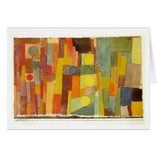 Style of Kairouan by Paul Klee Card