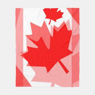 Style posé canadien CANADA de feuille d'érable Couverture Polaire