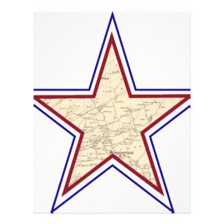 Style Star Map Custom Letterhead