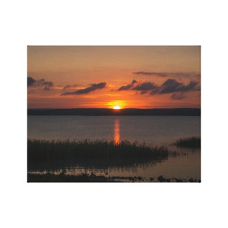 Style sunsets canvas print