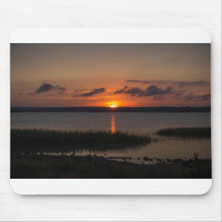 Style sunsets mouse pad