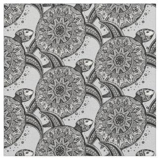 Style Turtle Pattern Fabric
