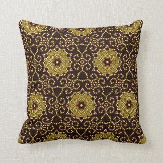 """""""Style"""" Vintage Gold_ 40's Era Throw Pillow"""