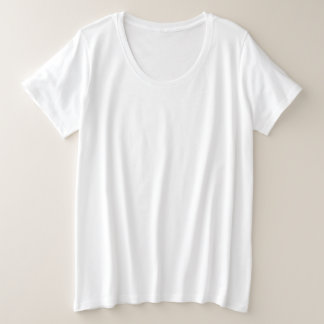 Style: Women's Plus-Size Basic T-Shirt Your new f