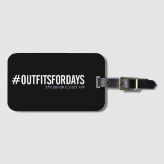 Stylebook® Luggage Tag - #outfitsfordays
