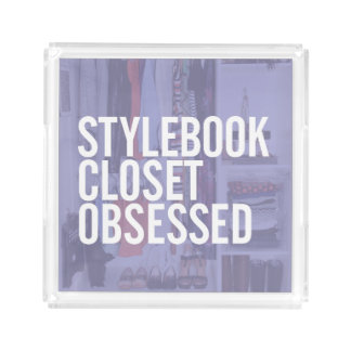 "Stylebook® ""Obsessed"" Acrylic Tray"