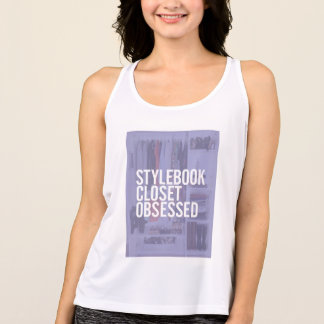 "Stylebook® Workout Tank - ""Obsessed"""