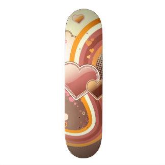 Styled design background skate boards