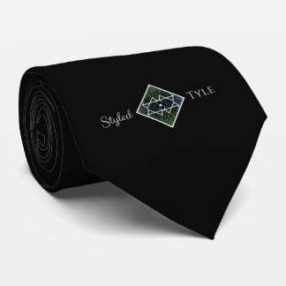 Styled Tyle Logo Tie