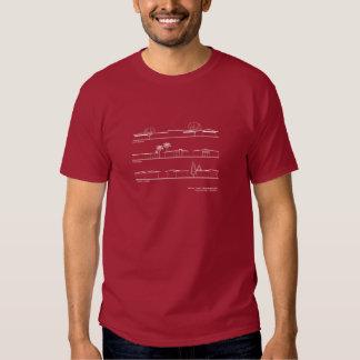 Styles architecturaux de voisinage de Monta Loma Tee-shirt