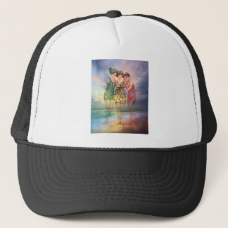 STYLES MAY COME AND GO BUT GOOD FRIENDSHIPS LAST.j Trucker Hat