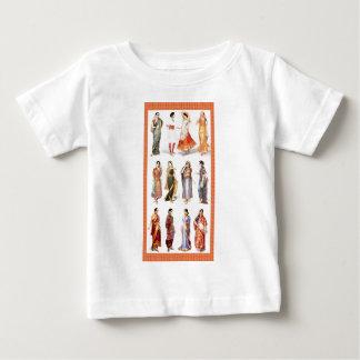 Styles_of_Sari vintage print Baby T-Shirt