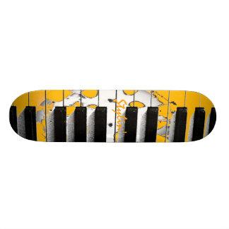 Stylin' Piano Keyboard Skateboard