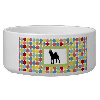 Stylish Akita Dog Food Bowl