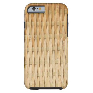 Stylish and Cool Bamboo Rattan Pattern Tough iPhone 6 Case