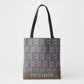 Stylish and Cool London Queen's Guard Tote Bag