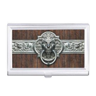 Stylish and Elegant Vintage doorknocker Business Card Holder