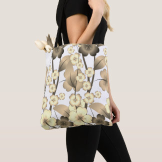 Stylish and flowered design bag