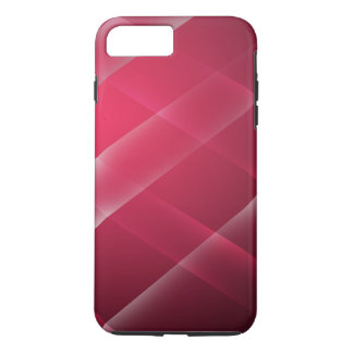 Stylish and Modern Red Wide Stripe Design iPhone 7 Plus Case
