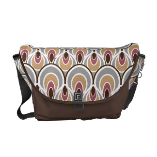 Stylish Art Deco Pattern Commuter Bags