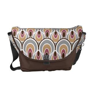 Stylish Art Deco Pattern Courier Bag