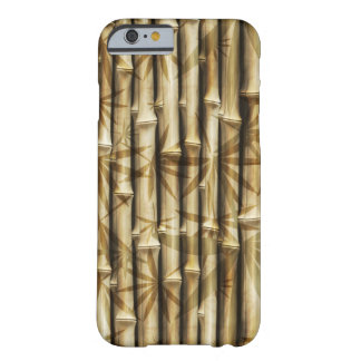Stylish Bamboo Design Barely There iPhone 6 Case