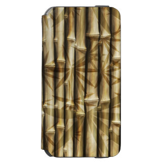Stylish Bamboo Design Incipio Watson™ iPhone 6 Wallet Case