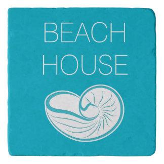Stylish Beach Theme Trivet