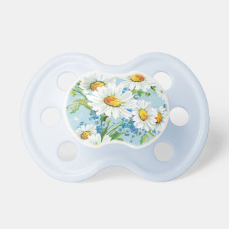 Stylish beautiful bright floral pattern 2 pacifier