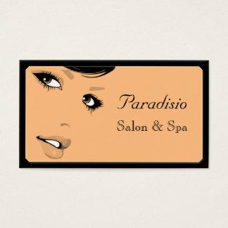 Stylish Beauty Salon and Spa Business Card