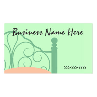 Stylish Bed & Breakfast Business Card