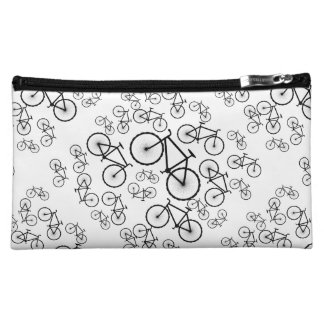 Stylish Bicycle Collage Cosmetic Bag