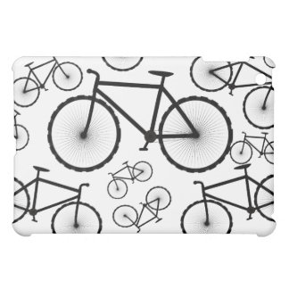 Stylish Bicycle Collage iPad Mini Cases