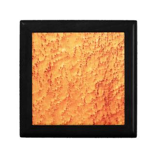 Stylish Bird's Eye Maple Wood Grains Pattern Gift Box