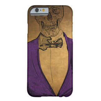 Stylish Bones Skeleton in a Suit Barely There iPhone 6 Case