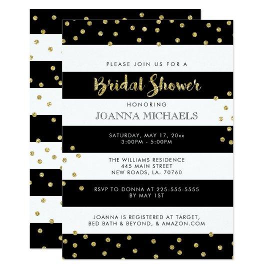 Stylish Bridal Shower Invitations