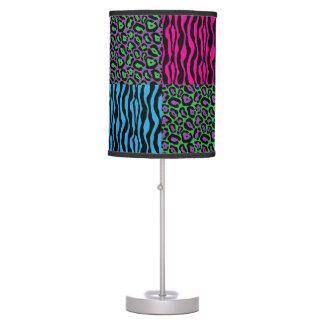 Stylish Brights Animal Print Pattern Table Lamp