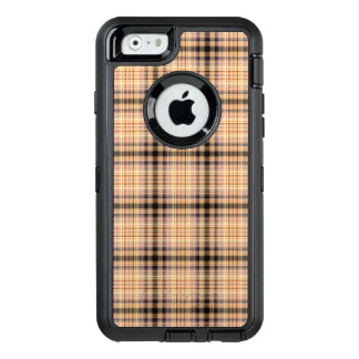Stylish brown checkered Pattern OtterBox iPhone 6/6s Case