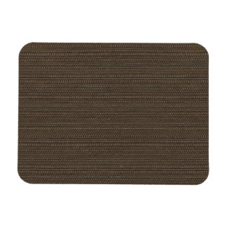 Stylish Brown Fabric Flexible Magnets